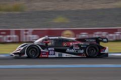 Masataka Yanagida de l'équipe AAI des séries de Le Mans d'Asiatique - course à Image libre de droits