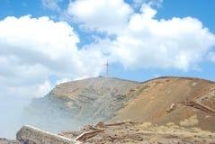 Masaya Crater Landscape Stock Photos