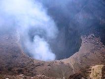 Masaya Volcano National Park royaltyfri foto