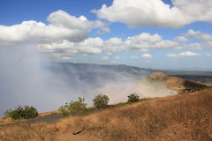 Masaya Volcano, Nicaragua. Masaya is a caldera located in Masaya, Nicaragua, 20 km south of the capital Managua. It is Nicaragua`s first and largest national stock photography