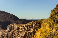 Masaya vulkanområde, Nicaragua royaltyfria bilder