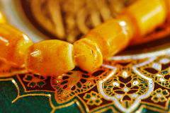 The Masbaha, also known as Tasbih with the Quran Stock Photography