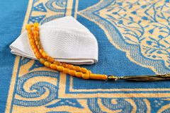 The Masbaha, also known as Tasbih with the Quran Stock Images