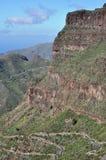 Masca dal, Tenerife Royaltyfri Foto