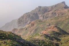 Masca en Macizo de Teno Mountains en Tenerife Fotografía de archivo libre de regalías