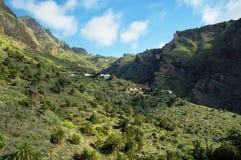 Masca by i Tenerife Royaltyfria Foton