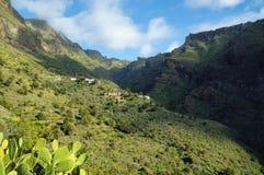Masca by i Tenerife Fotografering för Bildbyråer