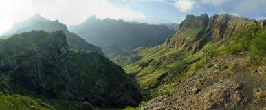 Masca by i Tenerife Royaltyfri Fotografi