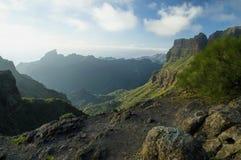 Masca by i Tenerife Royaltyfria Bilder