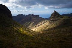Masca jar lekkie cień target4133_0_ Tenerife Zdjęcie Stock