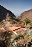Masca, Tenerife. The little village of Masca in Tenerife, Canary Island Stock Photos