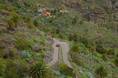 Masca in Tenerife Royalty Free Stock Images