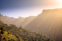 Masca, Tenerife Fotos de archivo libres de regalías