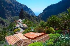 Masca, Tenerife stockfoto