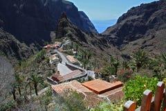 Masca (Tenerife, islas Canarias) Imágenes de archivo libres de regalías