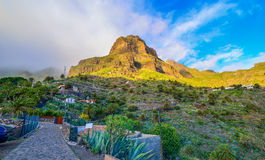 Masca village close to Anaga mountain Royalty Free Stock Image