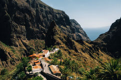 Masca Village in Tenerife, Canary Islands, Spain Royalty Free Stock Photo