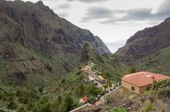 Masca village Stock Image