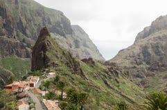 Masca wąwóz, Tenerife zdjęcia royalty free