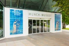 Mascar o museu em Oslo fotos de stock