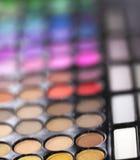 Mascara χρωμάτων Makeup σκιές Στοκ φωτογραφίες με δικαίωμα ελεύθερης χρήσης