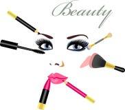 Mascara royalty-vrije illustratie