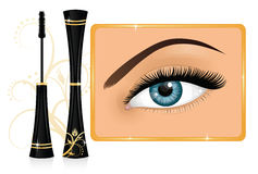 Mascara. Royalty Free Stock Images
