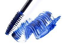 голубой mascara Стоковое Фото