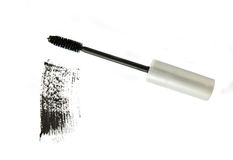 Mascara applicator Royalty Free Stock Image