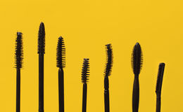 Mascara wands Royalty Free Stock Image