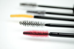 Mascara brushes Stock Photo