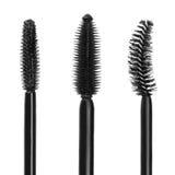 Mascara brushes isolated on white Royalty Free Stock Images