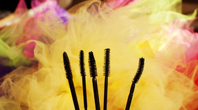 Mascara wands Royalty Free Stock Photos