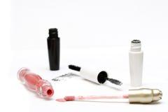 Mascara et rouge à lievres Photo stock