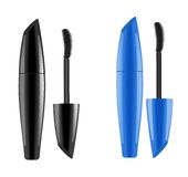 Mascara packaging. Place for your text Royalty Free Stock Photo