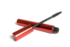 Mascara In red Tube Stock Images