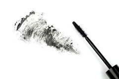 Mascara stroke Royalty Free Stock Image