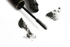 Mascara stroke Royalty Free Stock Photography