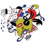 Mascarada stock de ilustración