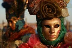 Mascarada de Carnivale Imagen de archivo