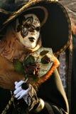 Mascarada de Carnivale Foto de archivo libre de regalías