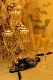 Mascarada del Año Nuevo Fotografía de archivo libre de regalías