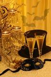 Mascarada del Año Nuevo Imágenes de archivo libres de regalías