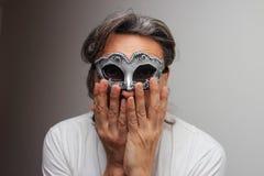 Mascarade d'Anonimous Image libre de droits