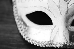 mascarade d'isolement de masque photographie stock
