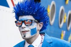 Mascarade des Anglais Photos libres de droits