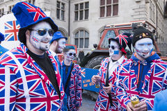 Mascarade des Anglais Photo stock