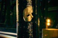 Mascarade - fantôme du masque d'opéra images stock