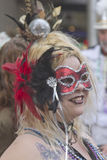 Mascarade at Mardi Gras Royalty Free Stock Photography