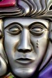 Mascarilla de plata Imagenes de archivo